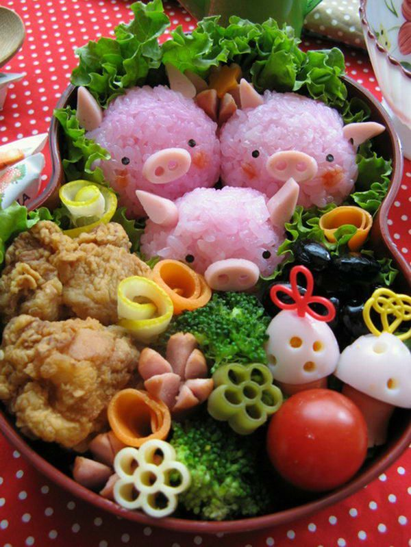 63 best Bento Box Art images on Pinterest | Bento box Box art and Box lunches : creative bento box - Aboutintivar.Com