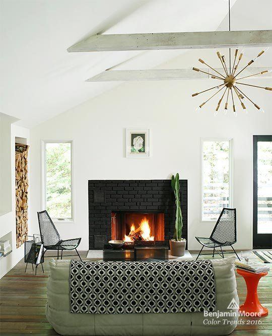 Simply White Living Room Ideas: 17 Best Images About Fireplace On Pinterest