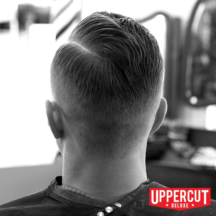 Modern Pompadour with a Hard Part - styled with Uppercut Deluxe Pomade. For more info visit www.uppercutdeluxe.com #uppercutdeluxe #uppercut #deluxe #how #to #grooming #pomade #modern #pompadour #hard #part
