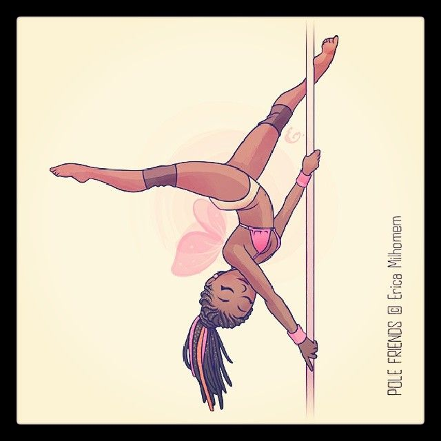 The Extended Butterfly #polefriends