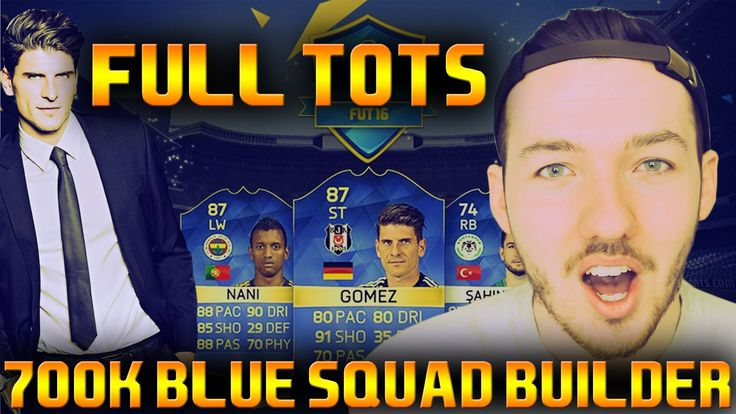 FULL TOTS TURKISH LEAGUE TEAM | 11 BLUE CARDS! 700K SQUAD BUILDER