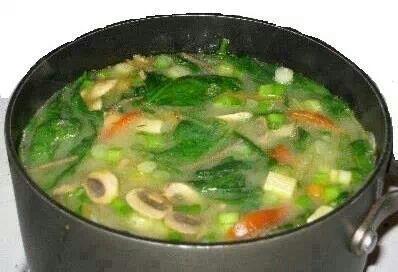 Zero calorie soups