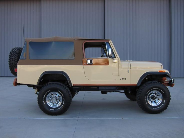 1983 JEEP CJ-8 SCRAMBLER - Side Profile - 125733
