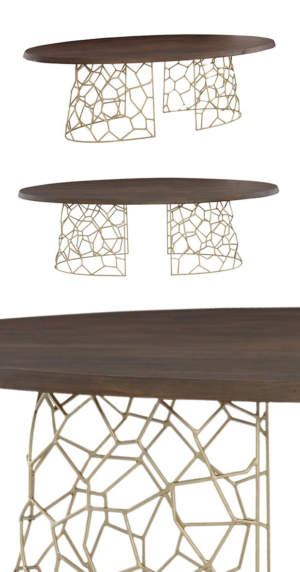 Make Special Meals Feel All The More Indulgent With Help Of This Gorgeous Gold Coast Dining Table Crafted From Dark Solid Acacia Wood Its