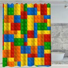 H + P #230 Горячие Продажа Цветные плед Пользовательские водонепроницаемый Занавески Для Душа Ванная Комната декора, больше размеров SQ01003 @ H0230(China (Mainland))