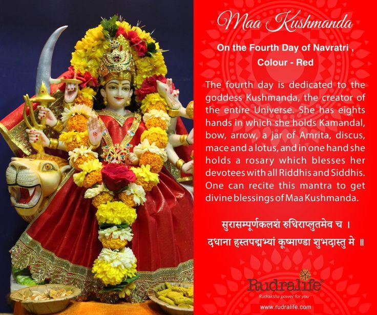 4th Day of Chaitra Navratri  #navratri #mata #hindu #india #festival #gudipadwa #navratra #navratre #rudralife #shiva #rudraksh #god #goddess #kushmanda #maakushmanda
