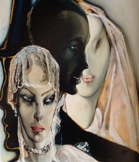 Gróf Batthyány Gyula - Alexandriai szeretők (Lovers from Alexandria, 1935 körül Hungarian artist