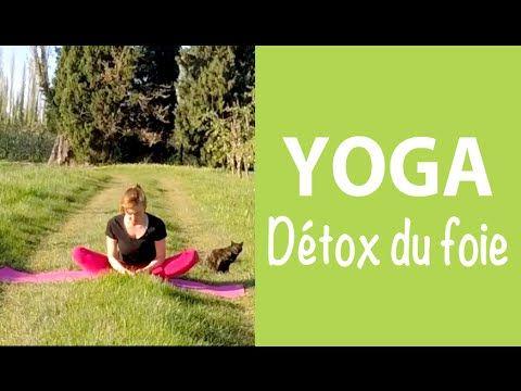 15 minutes de yoga pour drainer votre foie - Détox du printemps - YouTube