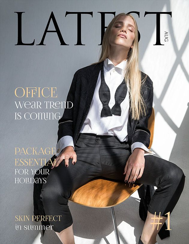 Fashion and beauty | Latest magazine #1 issue COVER by Patrick Schwalb