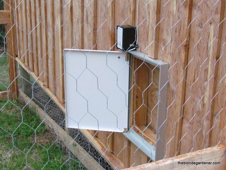 25 Best Ideas About Automatic Chicken Coop Door On