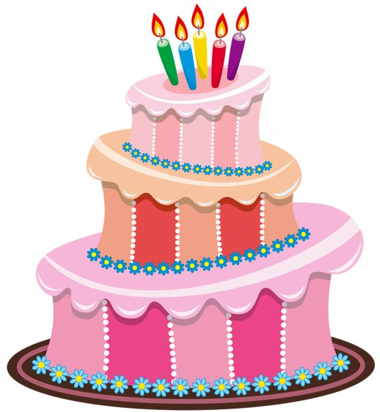 Clipart Birthday Dancing Cake : Cute Birthday Cake Clipart Gallery Free Clipart Picture ...