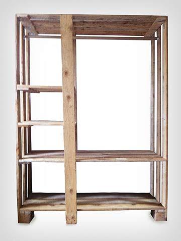 Hacer armario guarda ropa closet con palets muebles de - Ideas con palets ...