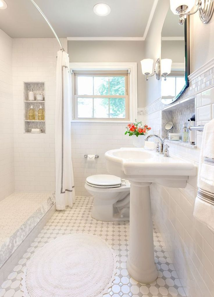 Enhancing The Feeling Of Space In Small Bathrooms ...