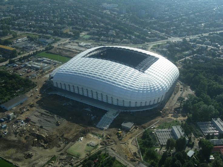 The City Stadium in Poznań / UEFA Euro 2012 Poland & Ukraine / Stadion Miejski w Poznaniu