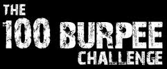 The 100 Burpee Challenge. full chest and thighs on the ground, jump at top. day one=1 burpee day 2=2 burpees, day 100=100 burpees. im crazy :$