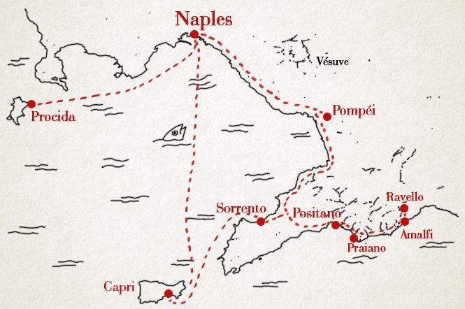 Naples, sa côte et ses îles - Ma Récréation - le blog de Lili Barbery-Coulon  NAPOLI - ITALIE - NAPLES