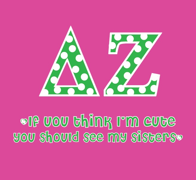 you should see my sisters: Deltazeta