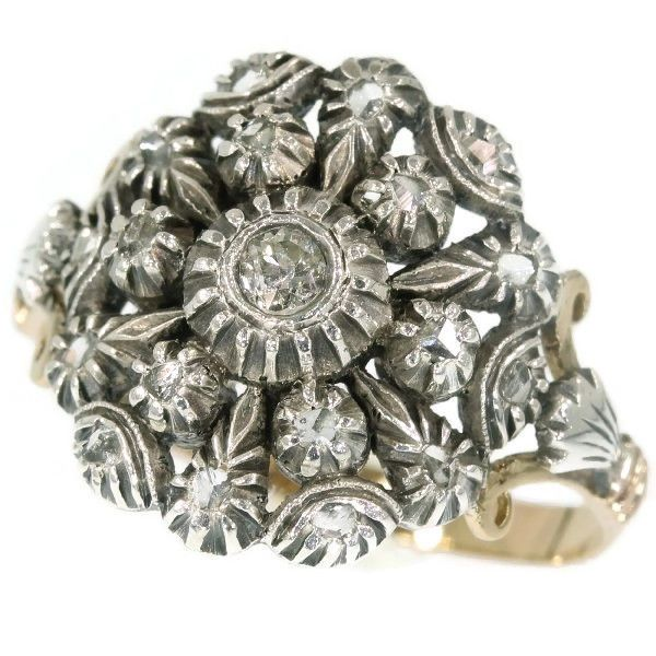Online veilinghuis Catawiki: Victoriaanse Portugese antieke ring met diamanten