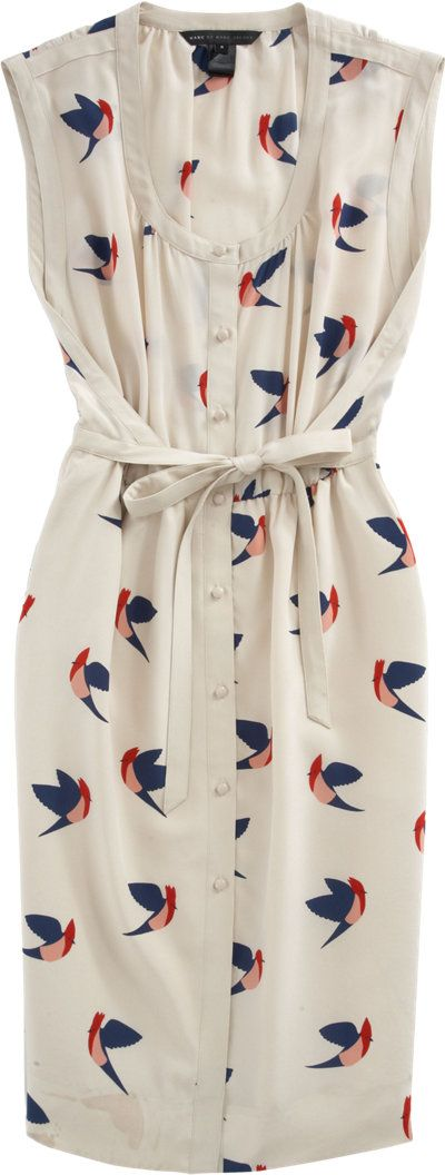 Marc by Marc Jacobs Bird Print Dress at Barneys.com