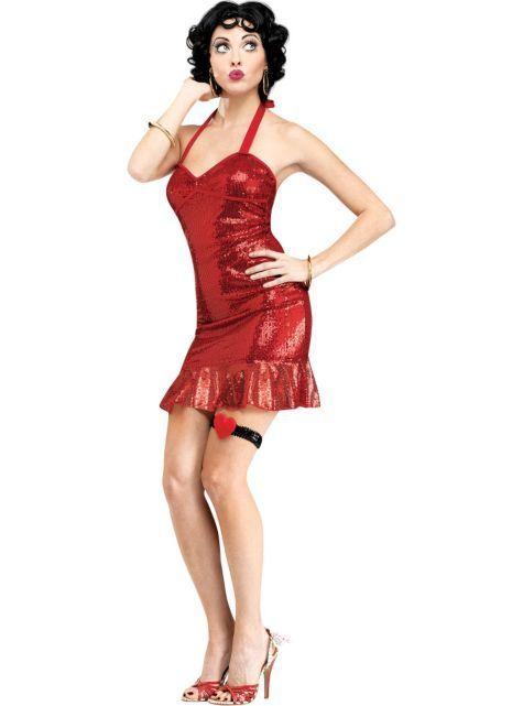 Red dress emoji costume spirit