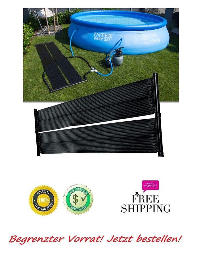Poolheizung für Pool Solar Solarabsorber Solarheizung 1x Solarmatte 600 x 70cm