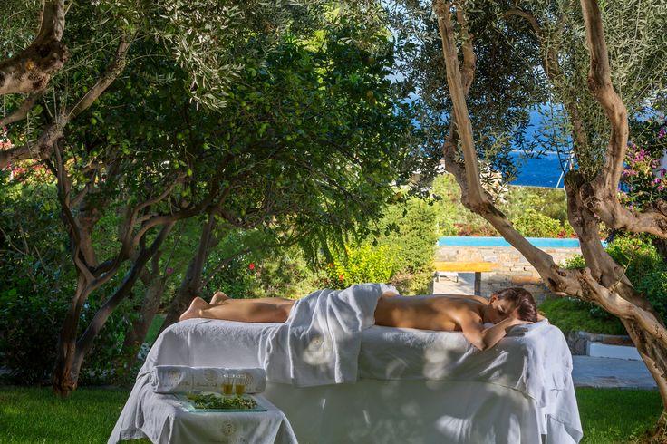 Special Spa treatments at Elixir Spa of Elounda Gulf Villas & Suites