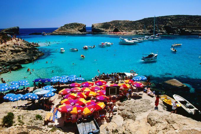 Blue Lagoon, Comino, Malta: Malta Gozo Beaches, Favorite Places, Malta Beaches, Boats, Relaxing Places, Blue Lagoon, Beaches Malta, Beaches In Malta, Lonely Planets
