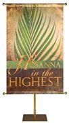 Hosanna in the Highest Sacred Symbols of Easter Banner