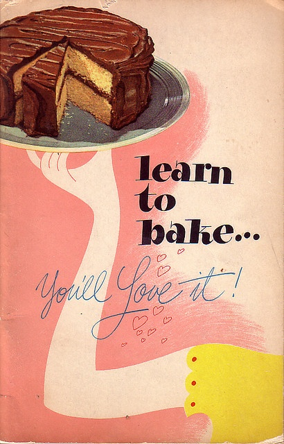Very, very wise vintage words :) #vintage #baking #food #cake #ad #poster #sign #1940s #1950s