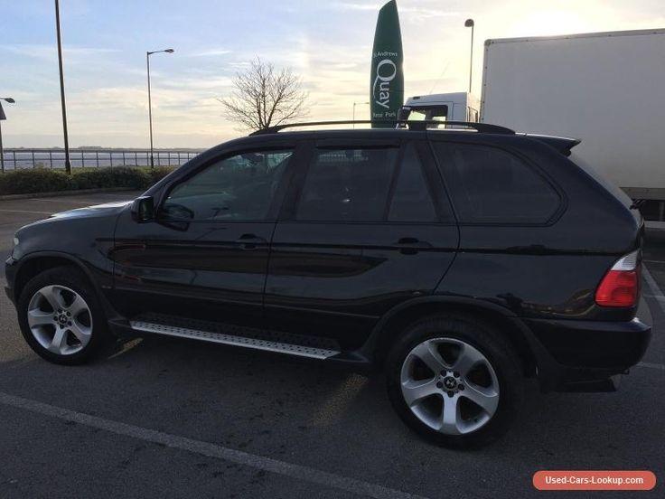 BMW X5 3.0 D SPORT AUTO black 05 2005 #bmw #x5e53 #forsale #unitedkingdom
