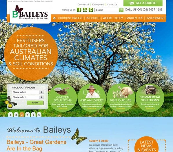 Baileys appointed Exa to create an online presence to enable the company to reach a broader market base. Exa designed and developed a user-friendly site focusing on promoting brand awareness and improved user interaction.