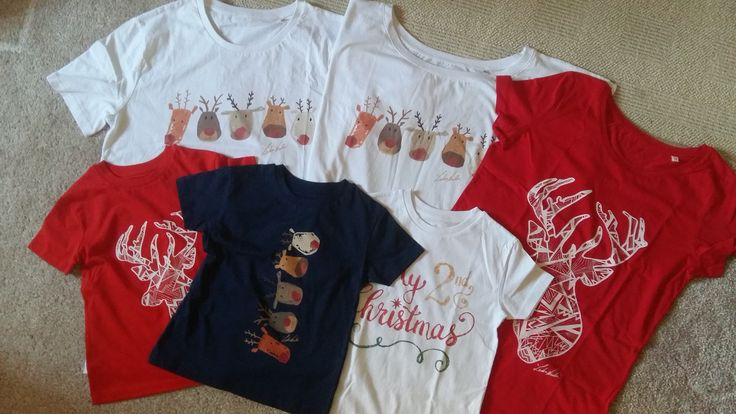 Winter T-shirts #wearmyart #redtshirt #whitetshirt #navytshirt #wintertime #reindeer #my2ndchristmas #bestgift #fashion #clothes #wintertime #christmasgifts #giftideas #personalizedgifts #giftsformom #giftsfordad #giftsforhim #giftsforher #giftsforboys #giftsforgirls #giftsforbaby #uniquegifts #christmaspresents #buyagift #Santa #cadoudecraciun #moscraciun #reni #ren #ideicadou #cadoulperfect #rudolph