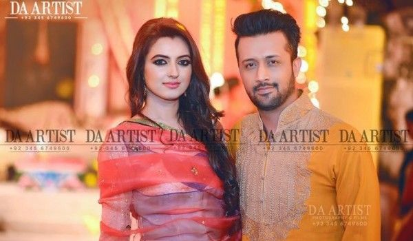 Atif Aslam With His Wife3