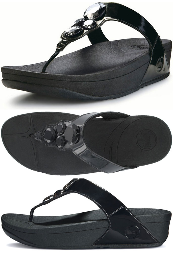 lunetta fitflops black 7