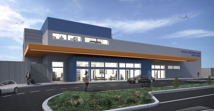 TEMPORARY AIR-TERMINAL at PAROS AIRPORT | MRA Architects