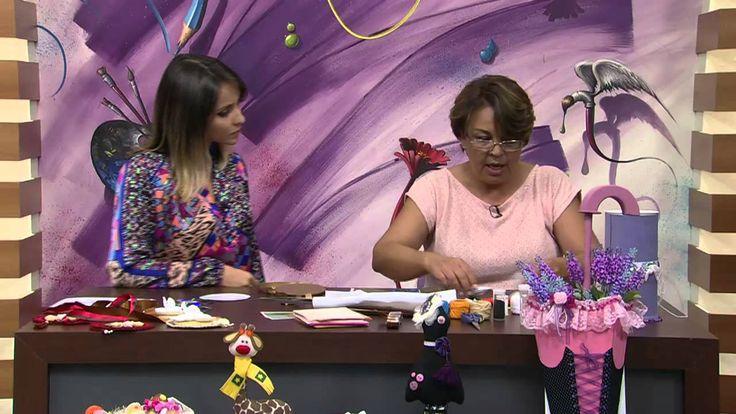 Mulher.com 19/02/2014 Sônia Marques - Escapulário de porta