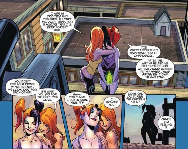 harley and ivy relationship problems