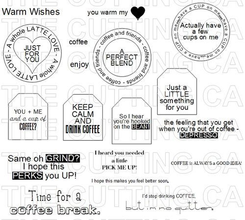 K-Cup Gift Holder - Keurig Cup Gifts - tags and template