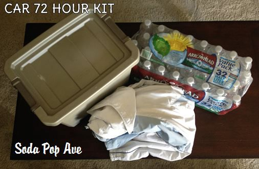 Car 72 Hour Kits — Soda Pop Avenue.  Great site for emergency kits and preparing.