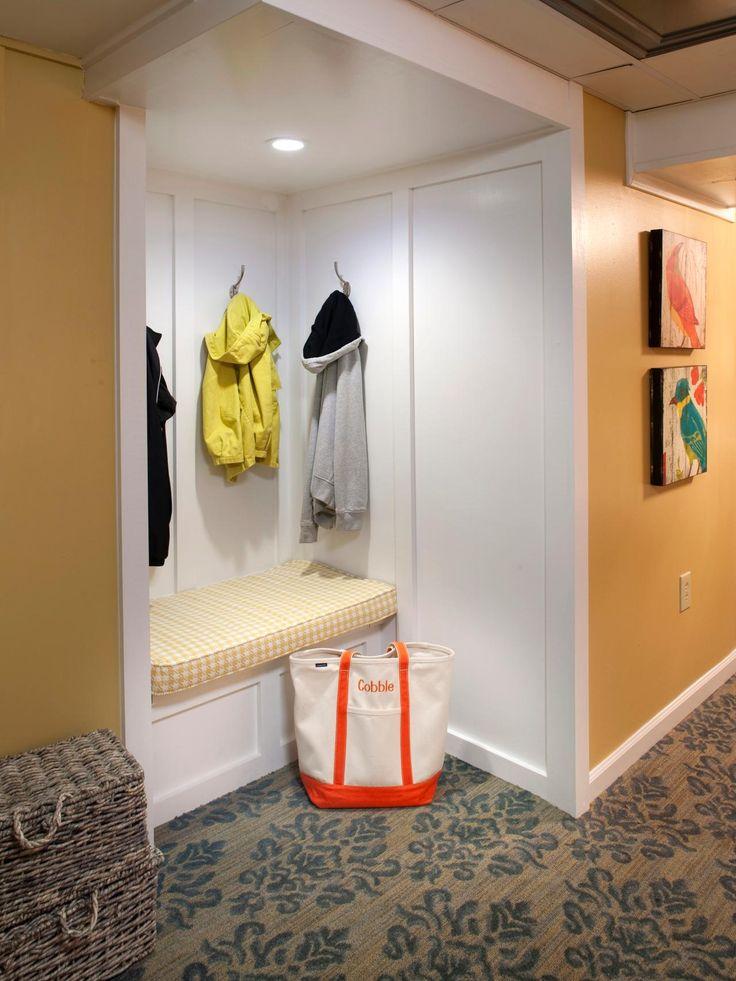 Mudroom Storage Ideas | Decorating and Design Ideas for Interior Rooms | HGTV