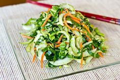Love this! Crisp Baby Bok Choy Greens in Tangy-Sweet, Sesame-Soy Vinaigrette #recipe by @thecozyapron #vegan #8020eating