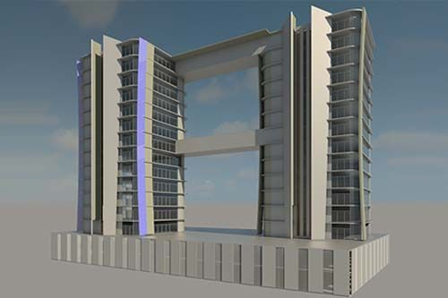 NMA-Residential Building for Oriental Containers