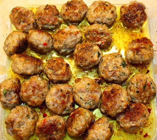greske kjøttboller fra Torills mat & reiser