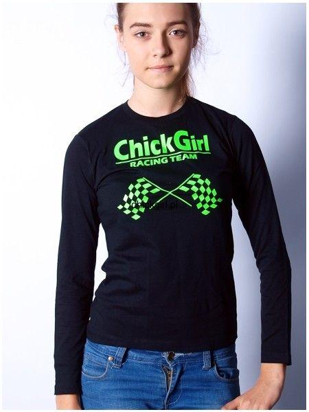 Bluzka z długim rękawem ChickGirl Racing Team