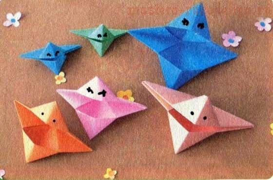 Master class sur l'origami: Parler poisson