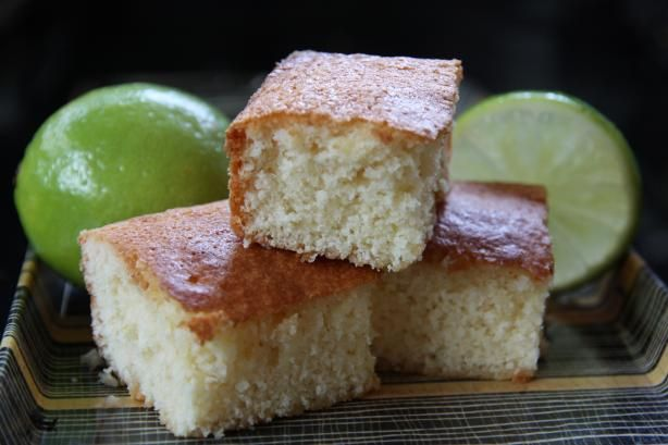 West African Lime Cake Recipe from Food.com:   Posted for ZWT II - Africa/Middle East, as taken from Epicurean.com. This is such an easy cake that even the kids can make it with some adult supervision.