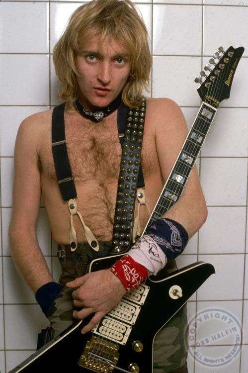 phil collen def leppard   Phil Collen-Def Leppard - Def Leppard and Rockstar Photographs