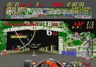 Super Monaco GP - Title screen image