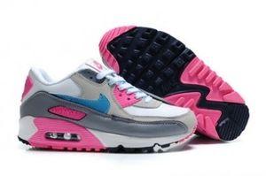 Nike Air Max 90 Wit / Grijs / Roze