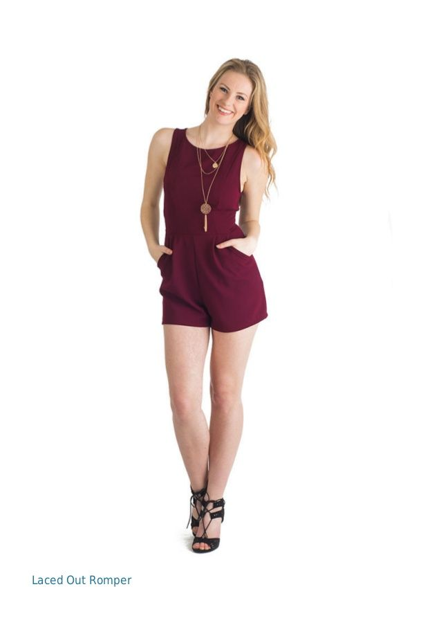 Laced Out Romper